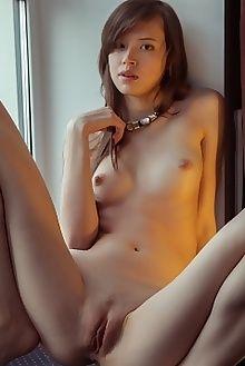 kitana tecali albert varin indoor brunette brown petite ass pussy tight hips custom