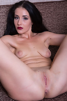 Monica F in Ravish by Marlene indoor brunette shaved