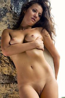 ceba new model presenting max asolo indoor brunette brown bo...