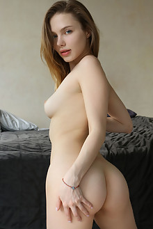 Scarlet in Rave by Natasha Schon indoor brunette blue eyes boobies shaved