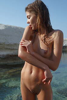 Monika Dee in Vitamin D by Rylsky outdoor sunny seaside brun...