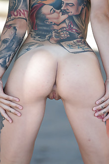 Stacy Cloud in Body Design by Marlene outdoor brunette brown eyes tattoo suicide girls boobies shaved ass pussy latest
