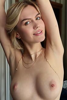 Lana Lane in Access by Leonardo indoor blonde green eyes boobies shaved pussy