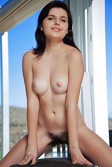 Presenting Flaca by Arkisi indoor outdoor sunny brunette hai...