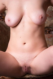 Aphrodita in Matonne by Marlene indoor redhead blue eyes boobies shaved tight pussy ass latest