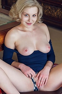 Kery in My Inspiration by Alex Lynn natalie p indoor blonde boobies shaved pussy fingering