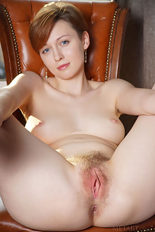 Lilu Rose in My View by Egon Schneider indoor redhead blue e...