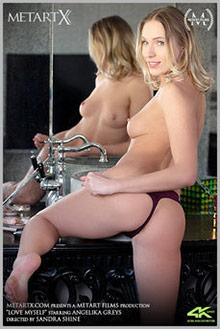 Angelika Greys in Love Myself by Sandra Shine indoor blonde blue eyes shaved pussy fingering movies uhd video 4k