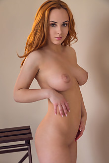 Presenting Vos by Alex Lynn indoor redhead hazel eyes boobies busty shaved ass pussy hips latest