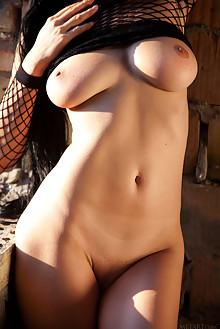 Mirela A in Alista by Quanty Rodriguez indoor brunette black...