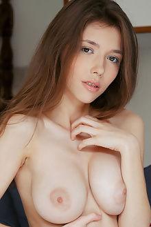 mila azul decano vicente silva indoor brunette brown boobies...
