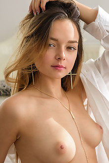 Presenting Slava by Tora Ness new model indoor blonde hazel eyes boobies shaved tight pussy latest
