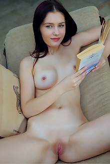 Kacy Lane in Story Time by Arkisi indoor brunette green eyes...