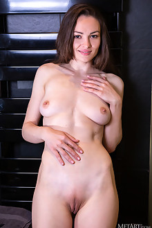 Tanya Grace in Shave Me by DeltaGamma indoor brunette brown eyes shaved pussy custom