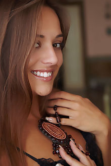 dominika tira erro indoor brunette brown shaved pussy labia