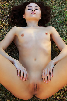 Berenice in Siodee by Rylsky outdoor brunette blue eyes shaved pussy latest
