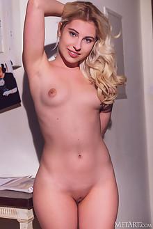 Lilly Bella in By Design by Alex Lynn indoor blonde blue eye...
