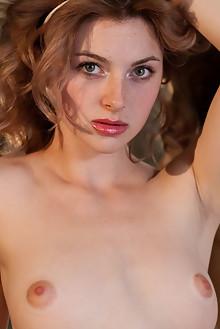Jamie Joi in Kernie by Albert Varin indoor redhead green eyes shaved pussy latest