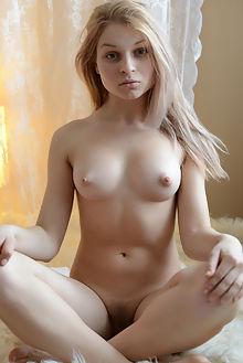 sassha soft paramonov indoor blonde blue boobies puffy unshaven pussy