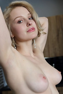 Kery in Lelini by Leonardo indoor blonde blue eyes petite boobies shaved pussy custom