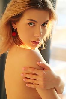 Eva Tali in Point Of View by Leonardo indoor blonde blue eyes boobies shaved pussy custom