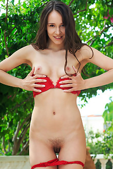 Presenting Megan Muse by Rylsky outdoor brunette brown eyes hairy unshaven pussy ass custom