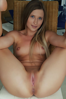 Lisa Dawn in Spice by Arkisi indoor blonde blue eyes small tits shaved pussy ass custom