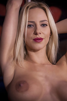 Nathaly Cherie in Apply Within by John Chalk indoor blonde blue eyes boobies shaved pussy latest