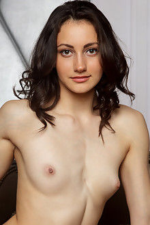 Gladys in Deam Novum by Rylsky indoor brunette brown eyes shaved pussy latest