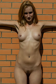 Leona in Im A Gardener by Thierry Murrell outdoor sunny blonde boobies
