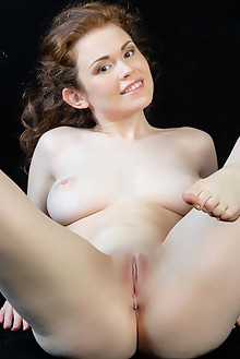 Estelle in Txima by Rylsky indoor brunette boobies shaved pussy tight