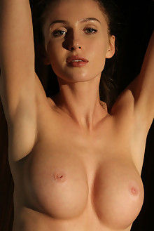 Holly Haim in Light Within by Natasha Schon indoor brunette green eyes boobies shaved custom