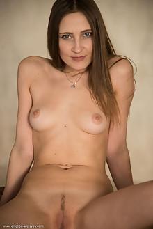 Alexandra F in Alexandra F by Stan Macias indoor brunette blue eyes shaved