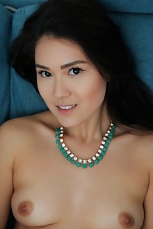 Kimiko in Favorite View by Arkisi asian indoor brunette brow...