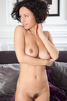 pammie lee stensa ron offlin indoor brunette brown short boobies unshaven pussy ebony