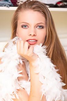 Sophie Sparks in Spark In Me by DeltaGamma indoor blonde blu...