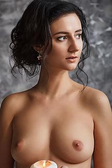 madeline new model presenting nudero indoor brunette brown boobies shaved pussy