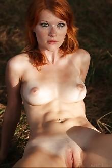 mia sollis gaturi deltagamma outdoor redhead green freckles boobies pussy tight custom