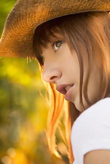Lena Anderson in Landel by Charles Lightfoot outdoor brunett...