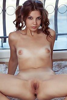 emma sweet pivera albert varin indoor brunette blue puffy shaved ass pussy tight custom