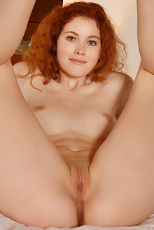 Adel C in Hasto by Luca Helios indoor redhead hazel eyes freckles boobies shaved pussy ass custom latest