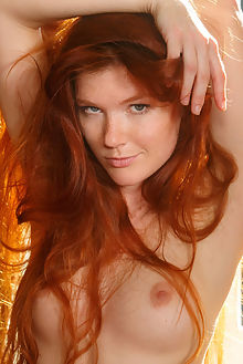 mia sollis kalnee luca helios indoor redhead green boobies freckles shaved pussy tight ass