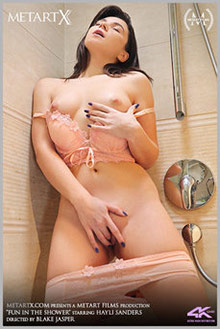 Hayli Sanders in Fun In The Shower by Blake Jasper indoor br...