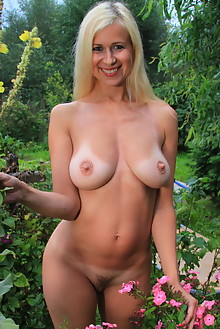 Anastasia Devine in Wishing Well by John Bloomberg outdoor sunny blonde boobies tanned trimmed