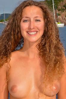 sarka sailing naturally charles hollander outdoor brunette